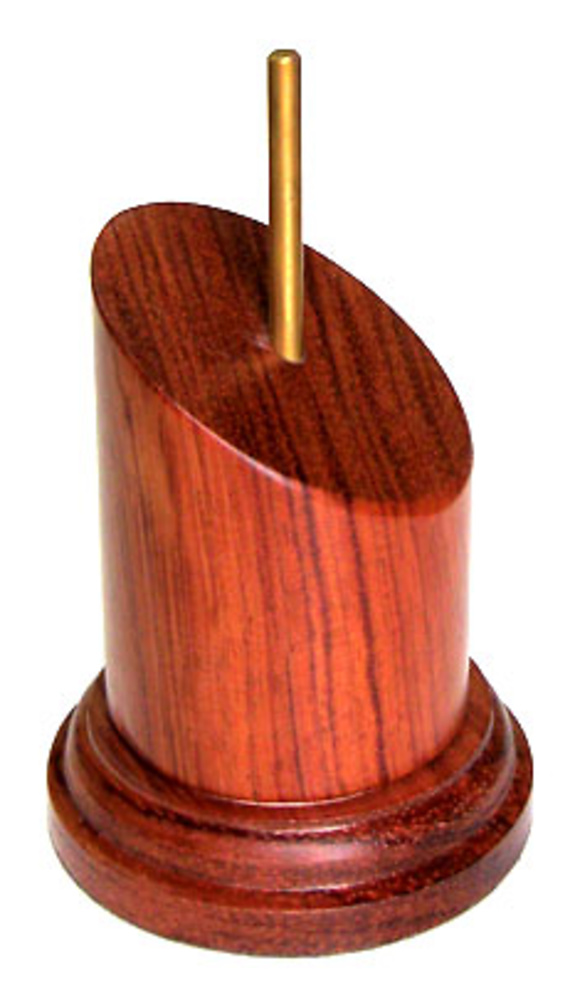 PEANA PEDESTAL Inclinado 4,5cm Bubinga
