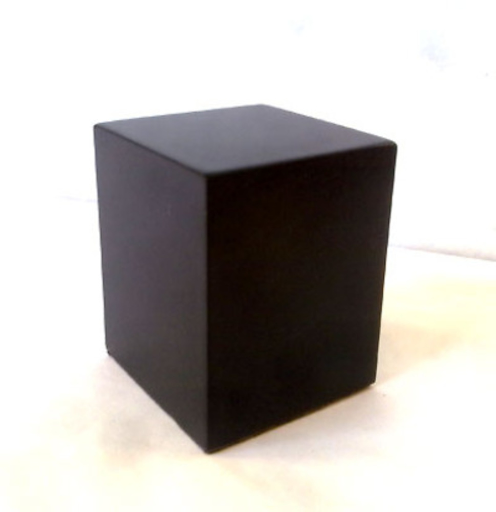 Wood base block black woodenbases for modeling