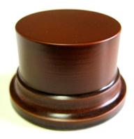 PEANA PEDESTAL Redonda 8cm Avellana