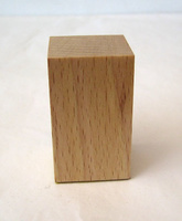 WOODEN BASE BLOCK 3x3 Beech