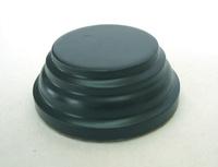 WOODEN BASE Round 3,5cm Black
