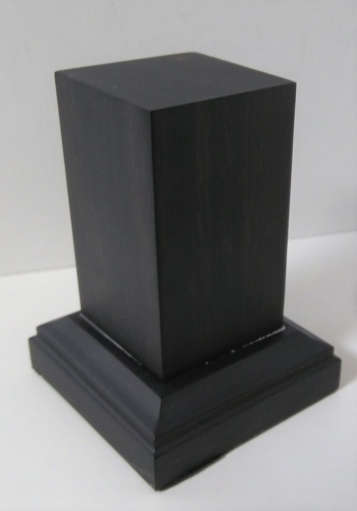 PEANA Pedestal 65mm Cuadrada 30x30mm Madera Ebano