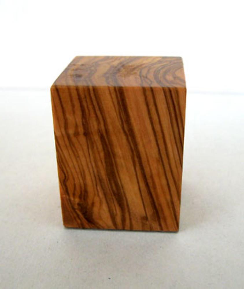 WOODEN BASE BLOCK 3x3 Olive