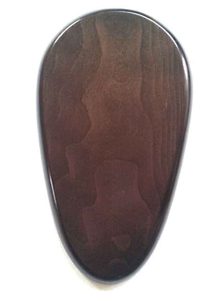 WOODEN BASE Pear-Shaped 30x16