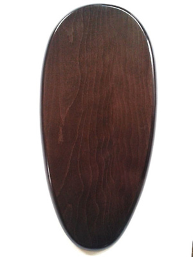 WOODEN BASE Pear-shaped 50x24