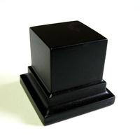PEANA PEDESTAL Cuadrada 4x4 Negro