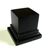 PEANA PEDESTAL Cuadrada 5x5 Negro