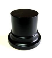 PEANA PEDESTAL Redonda 4,5cm Negro