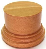 PEANA PEDESTAL Redonda 6,5cm Madera Haya