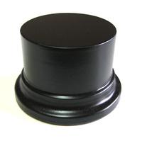 PEANA PEDESTAL Redonda 6,5cm Negro