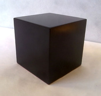 WOOD BASE BLOCK 5x5 Black