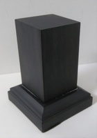 WOODEN BASE 65mm Square 30x30mm Ebony Wood