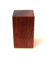 WOODEN BASE BLOCK 3x3 Bubinga