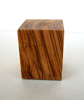 WOODEN BASE BLOCK 3x3 Olive