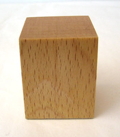 WOODEN BASE BLOCK 4x4 Beech