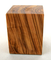 WOODEN BASE BLOCK 4x4 Olive