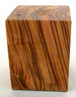 WOODEN BASE BLOCK 5X5 Olive
