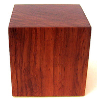 WOODEN BASE BLOCK 5x5 Bubinga