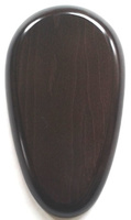 WOODEN BASE Pear-Shaped 23x13
