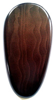 WOODEN BASE Pear-Shaped 36x21