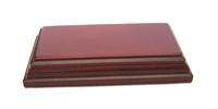 WOODEN BASE Rectangular 10x4 Mahogany