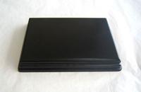 WOODEN BASE Rectangular 17x12 Black