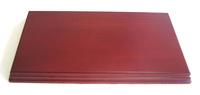 WOODEN BASE Rectangular 30x16 Mahogany