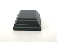 WOODEN BASE Square 3x3 Black