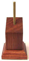 WOODEN BASE/STAND Inclined 4x4 Bubinga