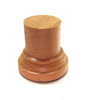 WOODEN BASE/STAND Round 3,5cm Beech